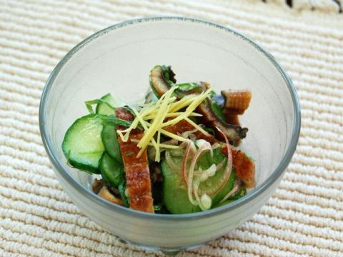 Uzaku Japanese Style vinegar Salad</br>うざく