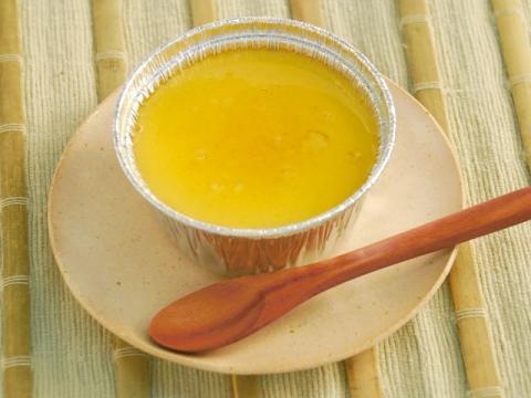 Kintoki-imo (Japanese sweet potato) Pudding / 金時芋プリン