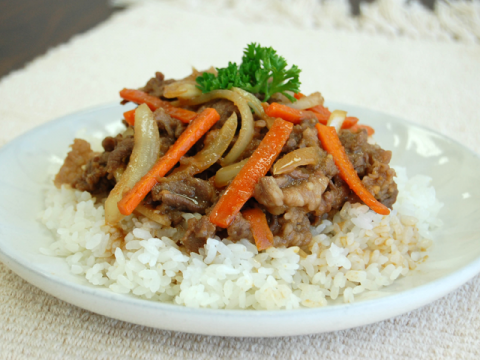 BEEF BOWL / 簡単牛丼