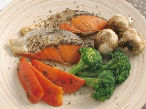 Easy roasted salmon / 簡単鮭焼き