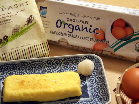 Dashimaki Rolled Egg Omelet<br/>だし巻き卵