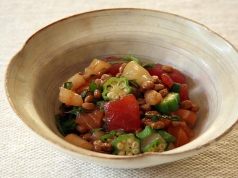 Kaisen Natto<br/>海鮮納豆