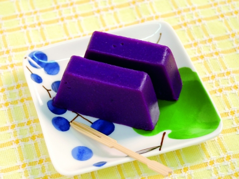 Purple Sweet Potato Yokan (sweet jelly) <br>紫いもようかん