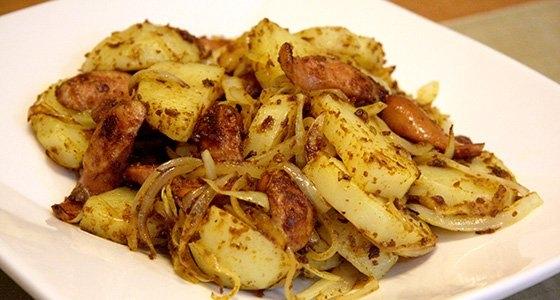 Curry flavor German Potato / カレー味ジャーマンポテト