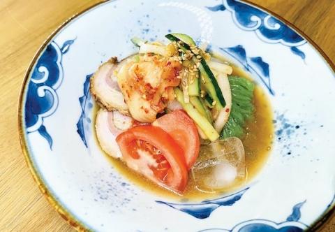 Soba Konnyaku Cold Noodle / そばこんにゃく冷麺