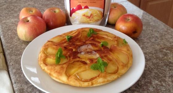 Apple Pancakes<br>アップルホットケーキ