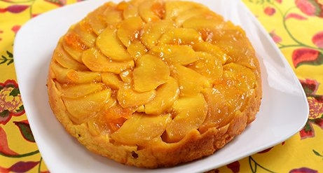 Mirin Kasu Apple Pound Cake / みりん粕のりんごパウンドケーキ
