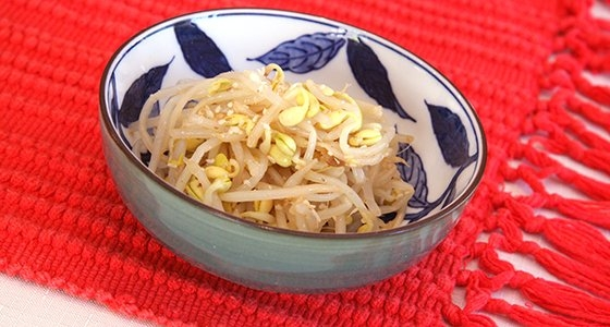 Bean Sprouts Namul<br>豆もやしのナムル