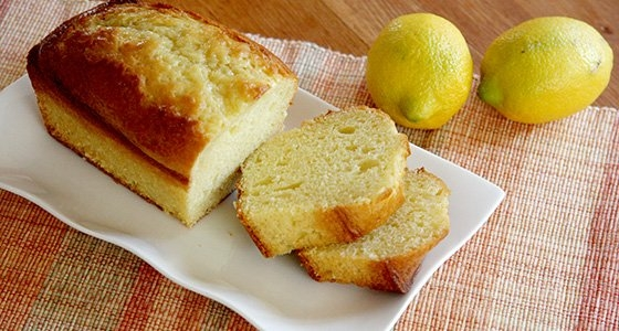 Salted Lemon Pound Cake / 塩レモンケーキ