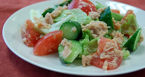 Tuna dressed Salad<br/>ツナドレサラダ